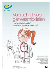 Geldigheid voorschriften voor geneesmiddelen: affiche en infoflyer