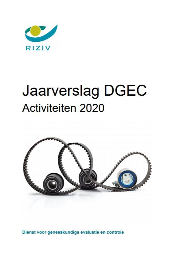 Jaarverslag DGEC - Activiteiten 2020
